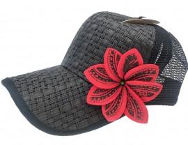 Cap with 8 Petal Tiare Tattoo Flower