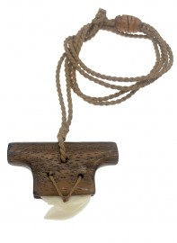 Replica Koa Weapon with Shark Tooth Necklace